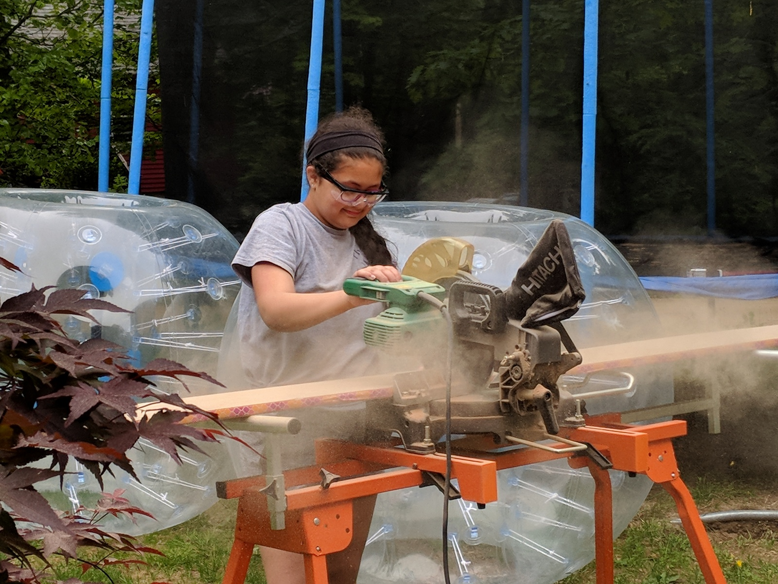 woodworking daughter New Hampshire Anura Guruge Google Pixel 2