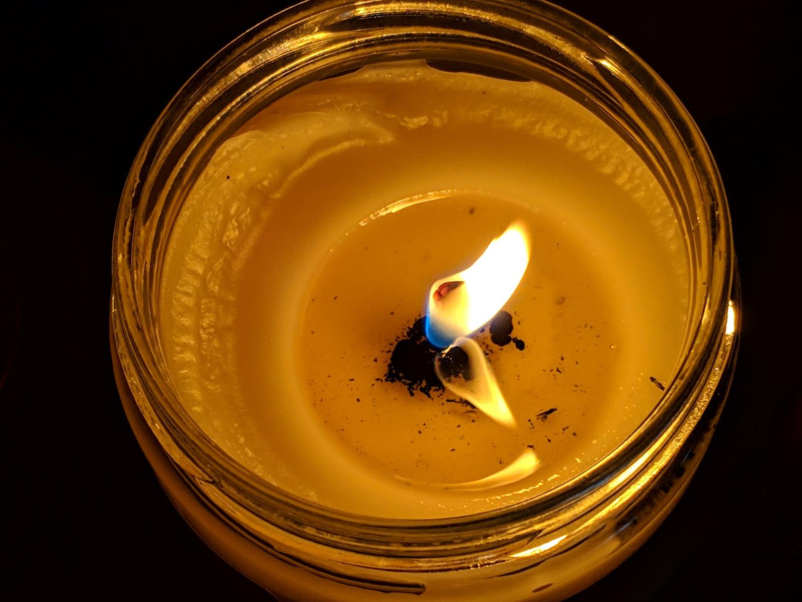 candle burning bright Anura Guruge